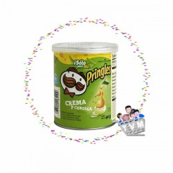 Papas Pring Crema y Cebolla x137Gr X 3 UND