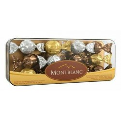 CHOCOLATES MONTBLANC ESTUCHE 12x12x14g